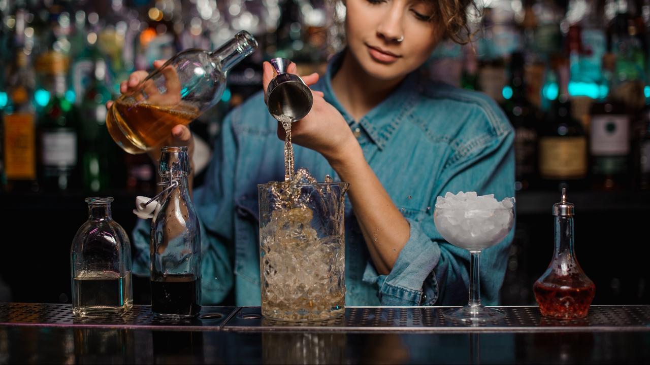 Female bartender for hire