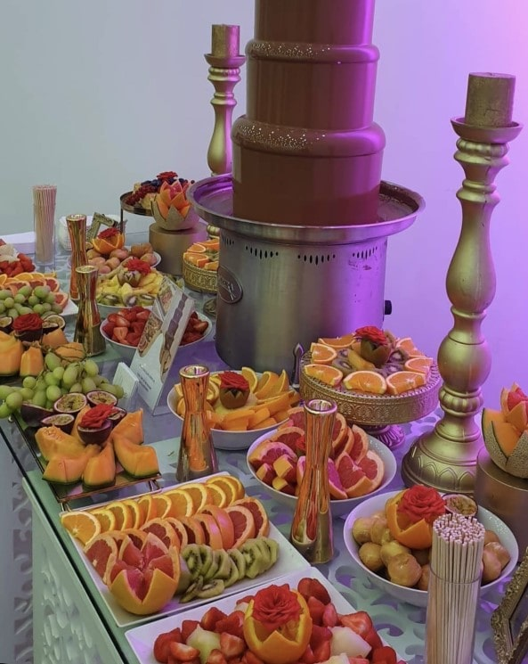 Chocolate fountain for hire