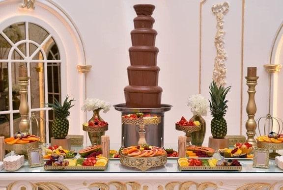 chocolate fondue fountain for birthday
