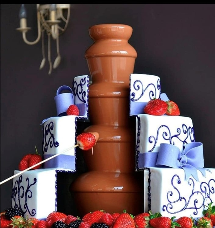 Chocolate Fountain for rent in NYC