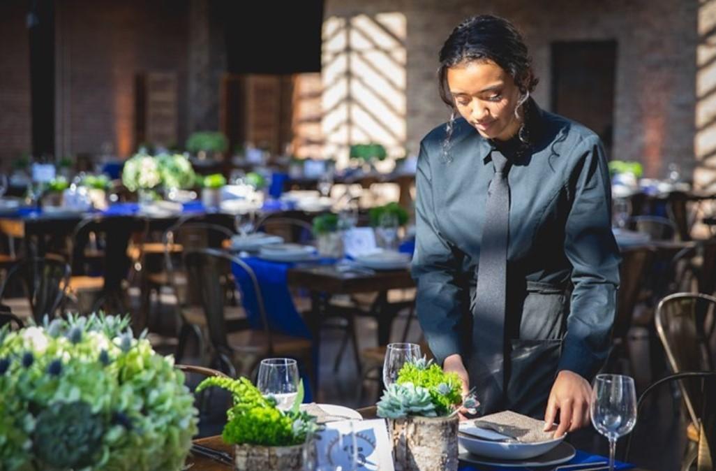 Server for wedding