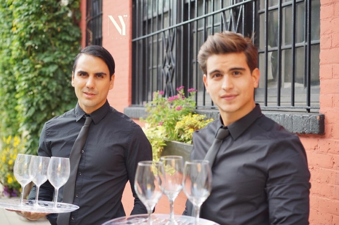 WAITERS FOR HIRE IN MANHATTAN