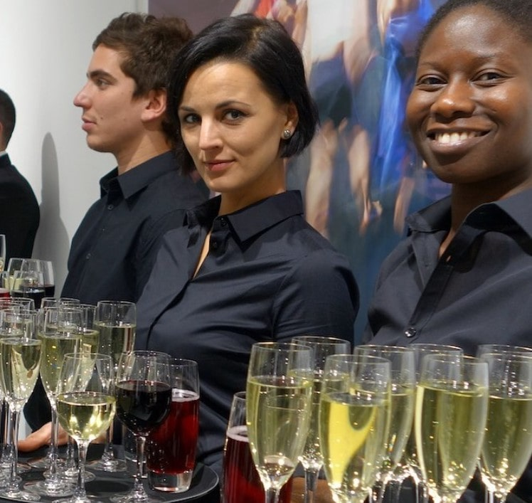 wait staff for events