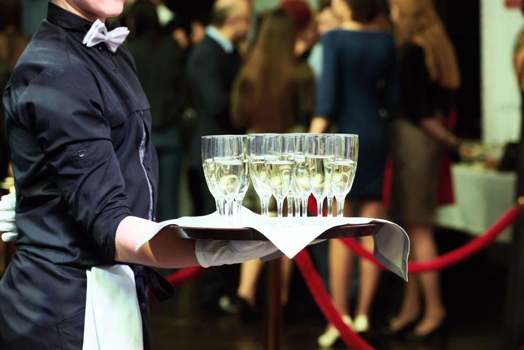 waiter at event
